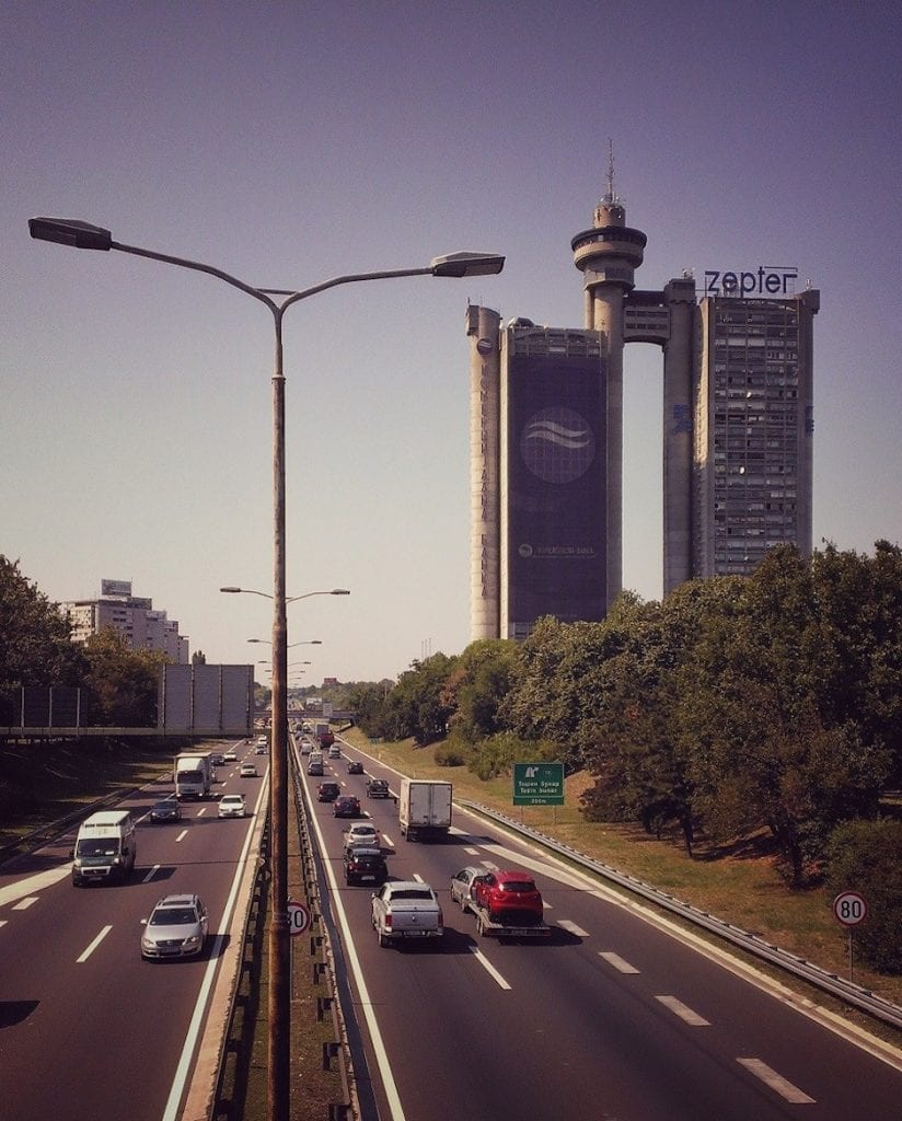 Genex-Turm Belgrad