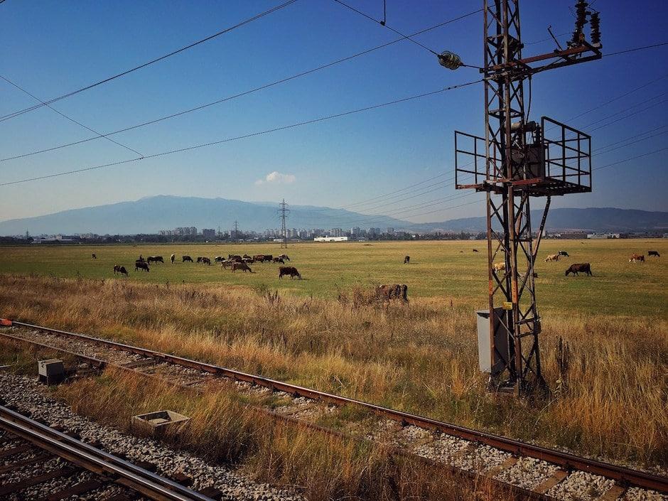 Slow Travel im Zug