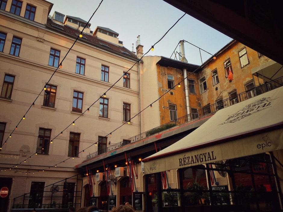 Budapest Reisebericht Gozsdu-Höfe
