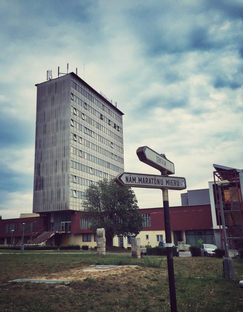 Kosice Bahnhof