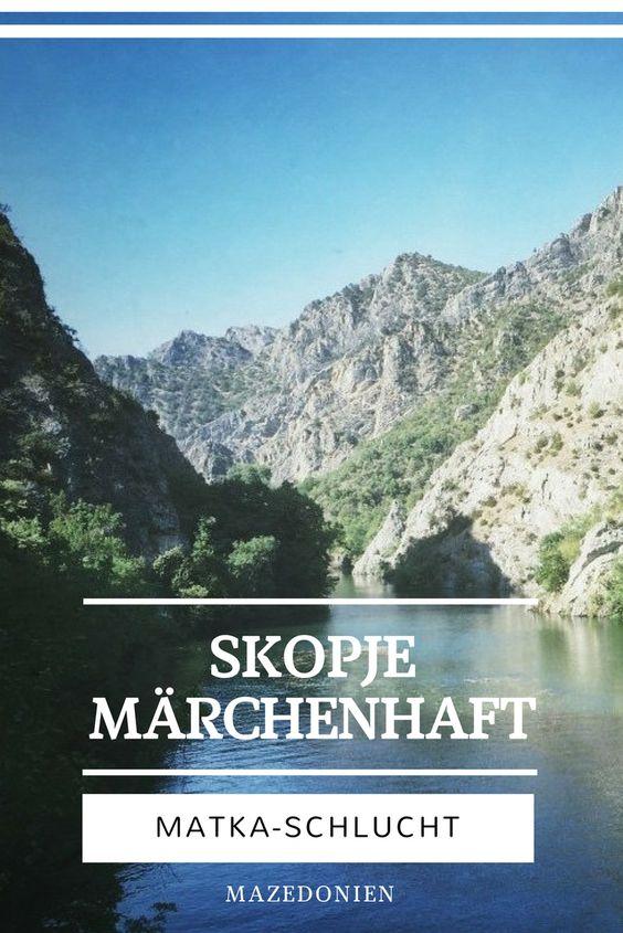 Matka Schlucht Skopje