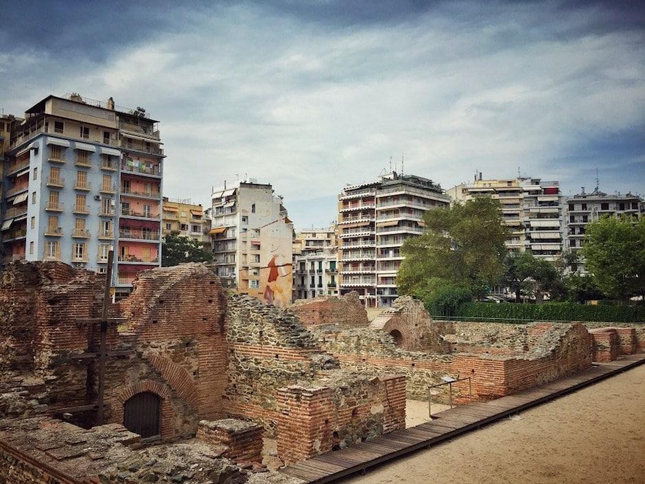 Plateia Navarinou Thessaloniki