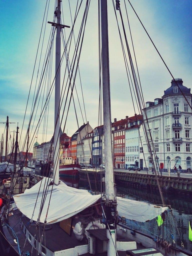 Kopenhagen Nyhavn Schiff