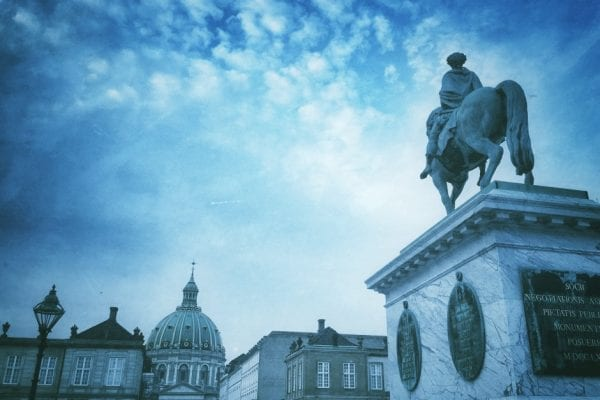 Kopenhagen im Winter