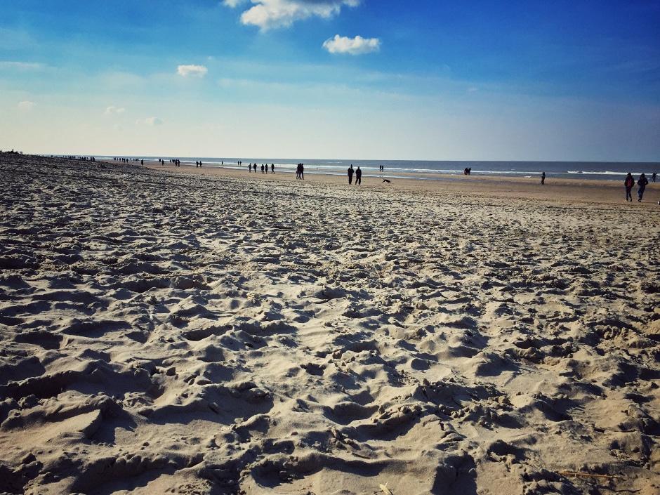 Ausflug Zandvoort im Winter