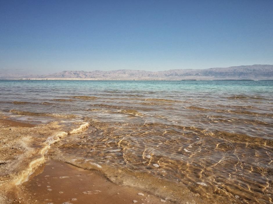 Israel im Winter Totes Meer