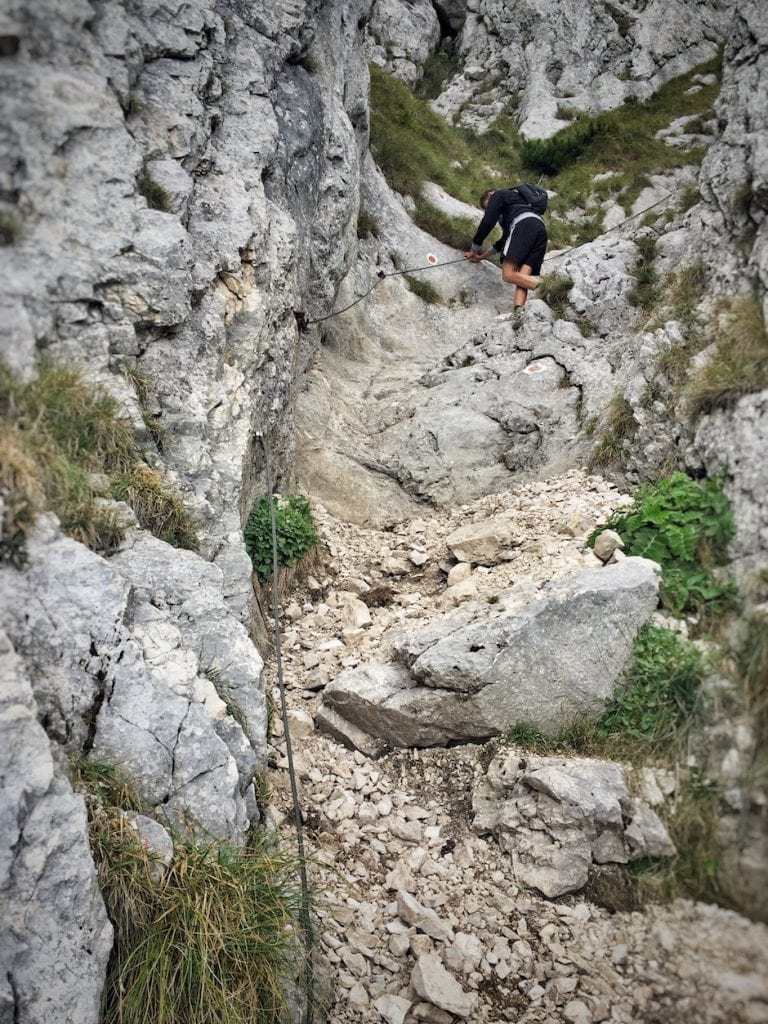 Wandern Karpaten Cabana Curmatura