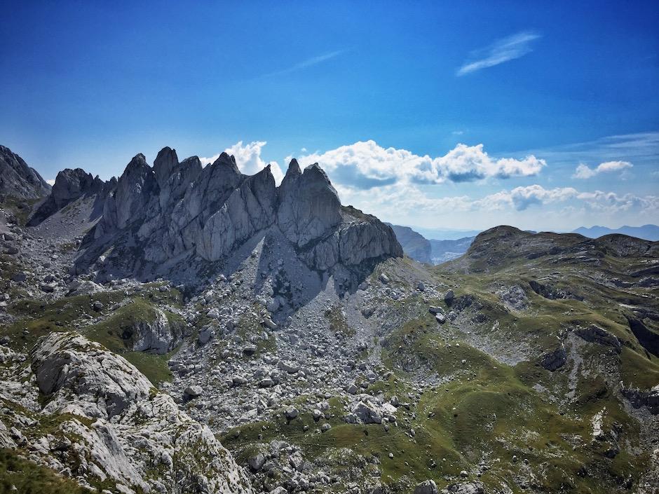 Wandern Montenegro Bobotov Kuk