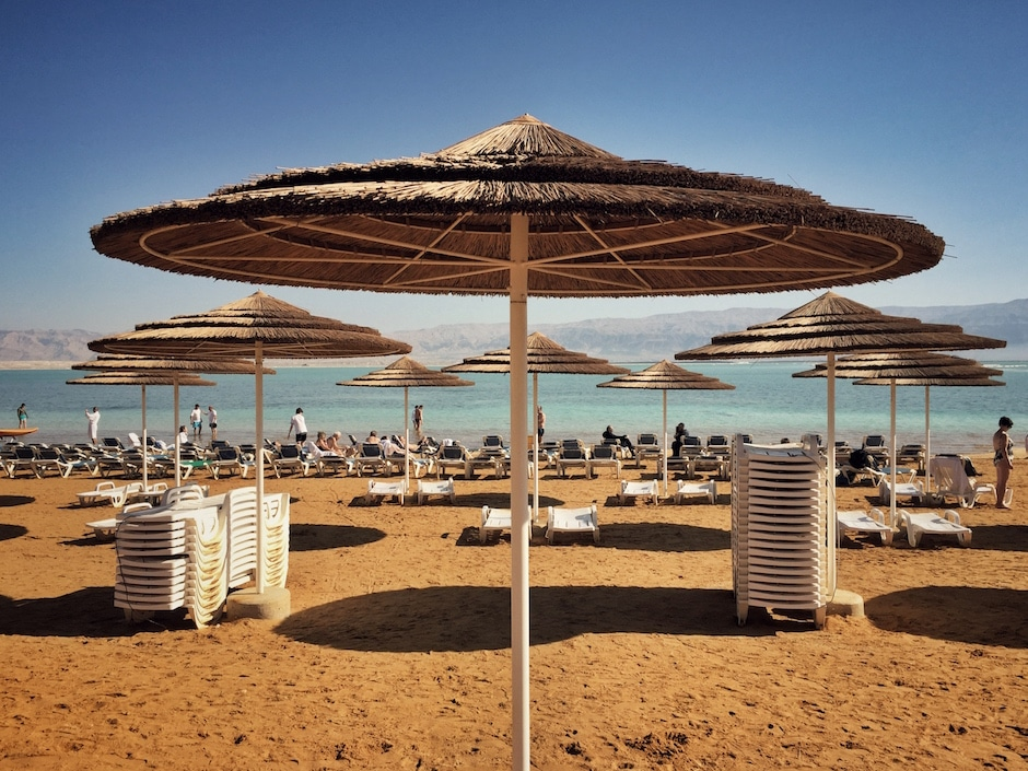 Totes Meer Strand Ein Bokek