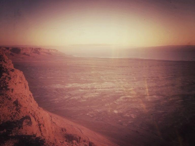 Masada Sonnenaufgang