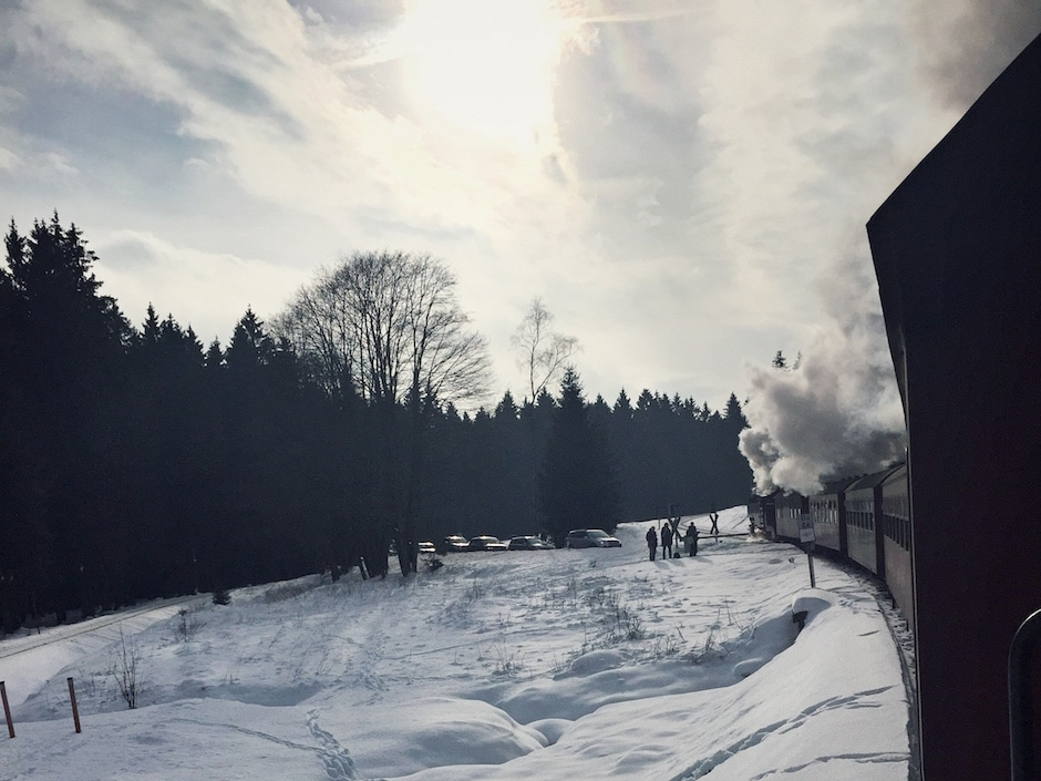 Brockenbahn Winter