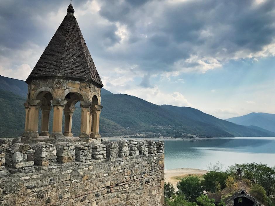 Burg Ananuri Georgien