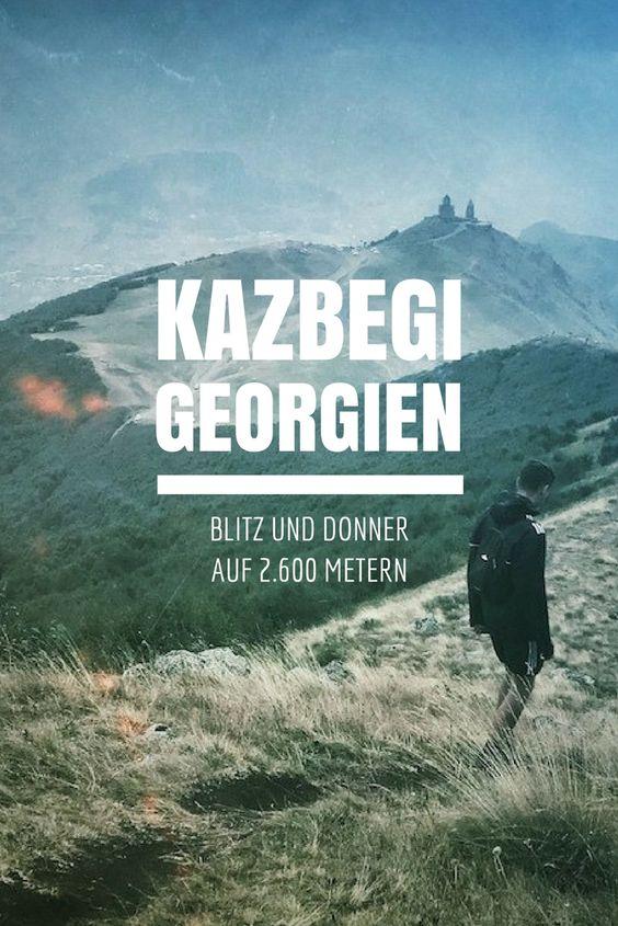 Kazbegi Georgien