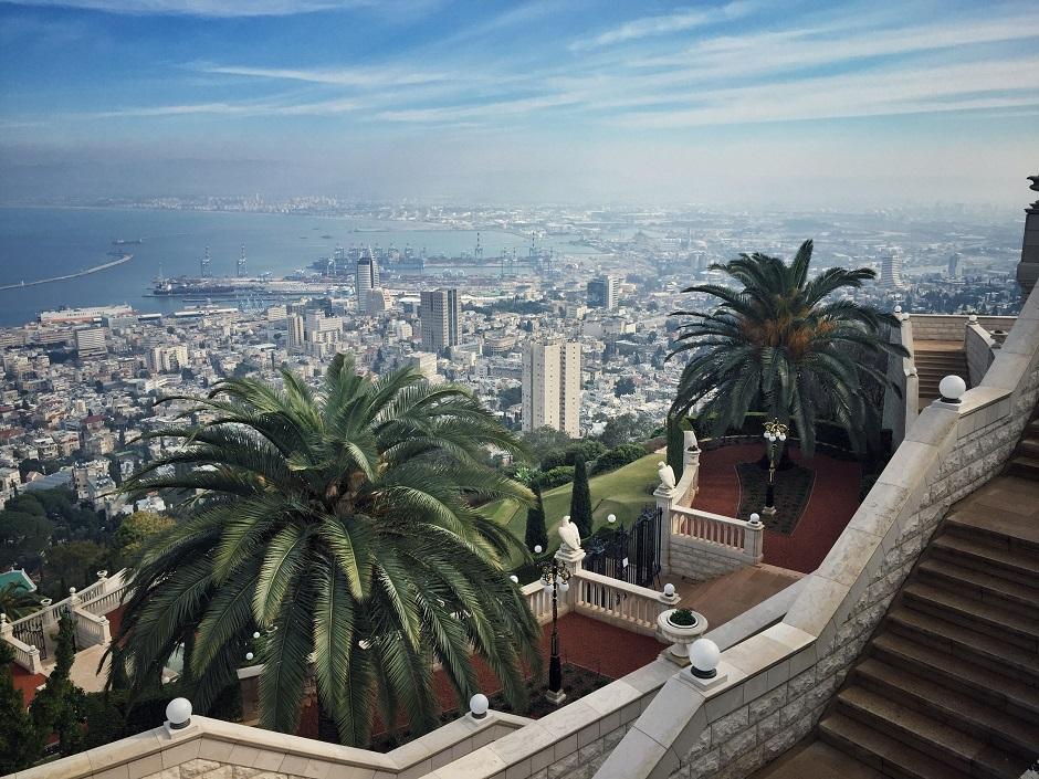 Haifa Gärten der Bahai