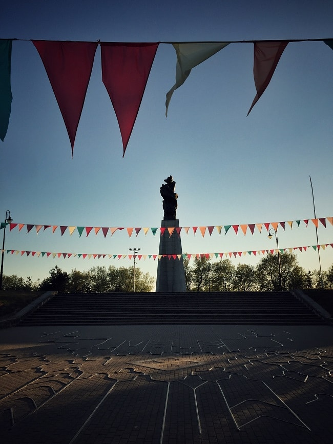 Denkmal der ums Leben gekommen Seemänner Liepāja