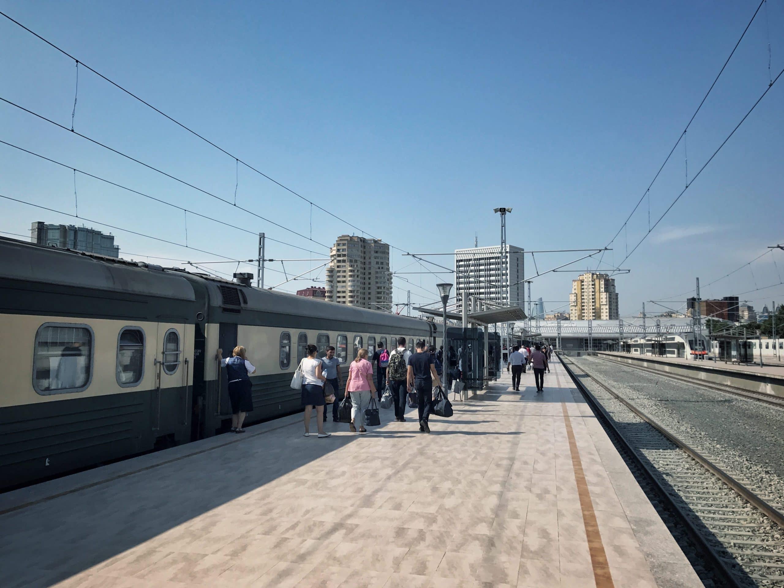 Nachtzug Tiflis Baku Jerewan
