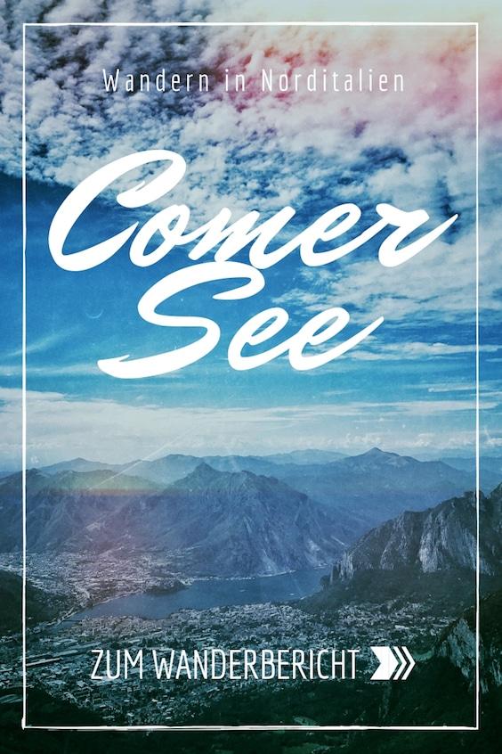 Comer See Wandern