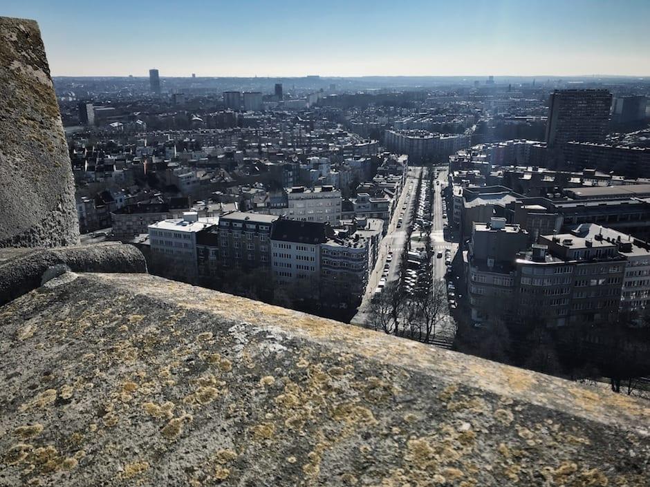 Brüssel im Winter