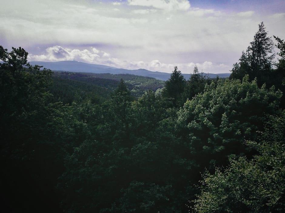 Wandern im Harz Brockenwanderung Heinrich-Heine-Weg