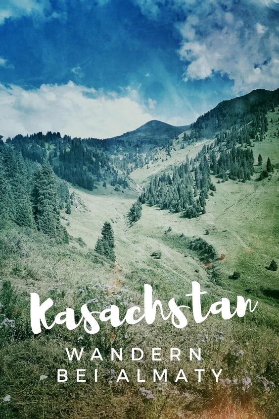 Kasachstan Wandern Almaty