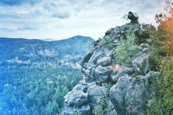Zittauer Gebirge Wandern Oybin