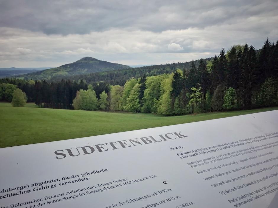 Sudetenblick Zittauer Gebirge