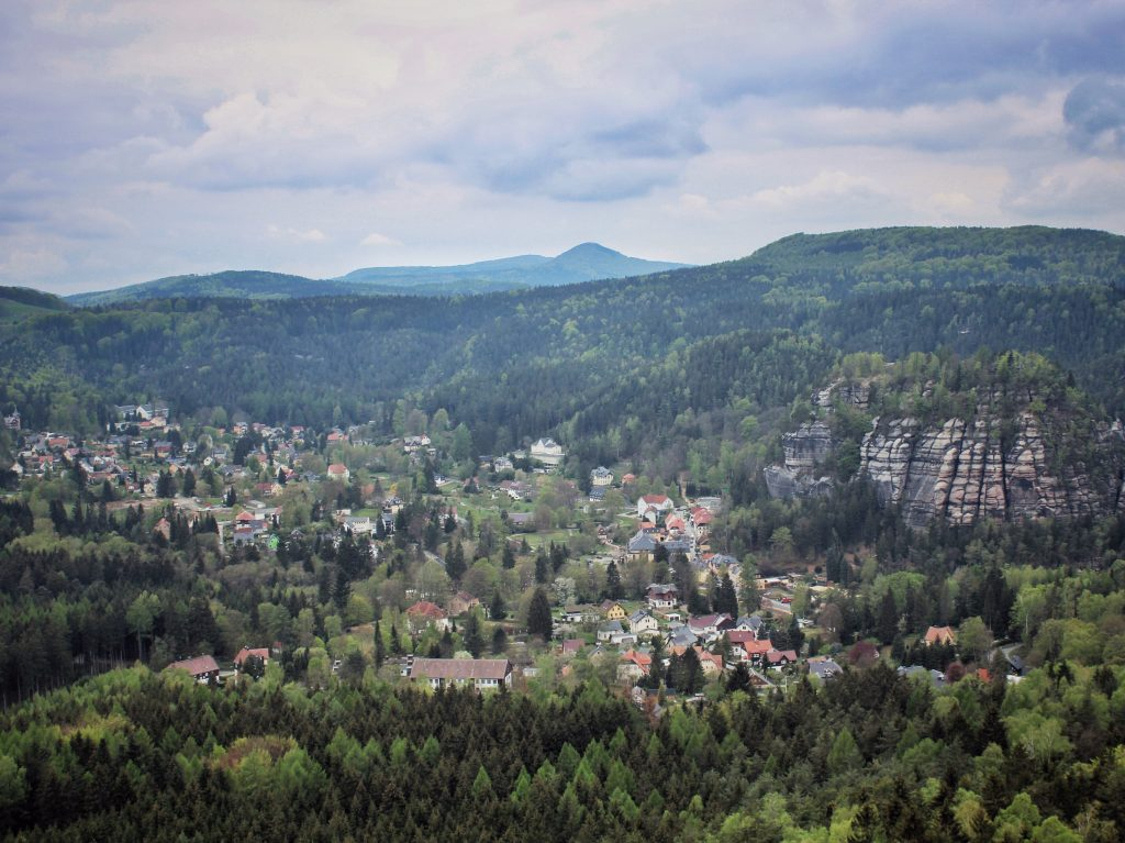 Zittauer Gebirge Wandern Taube