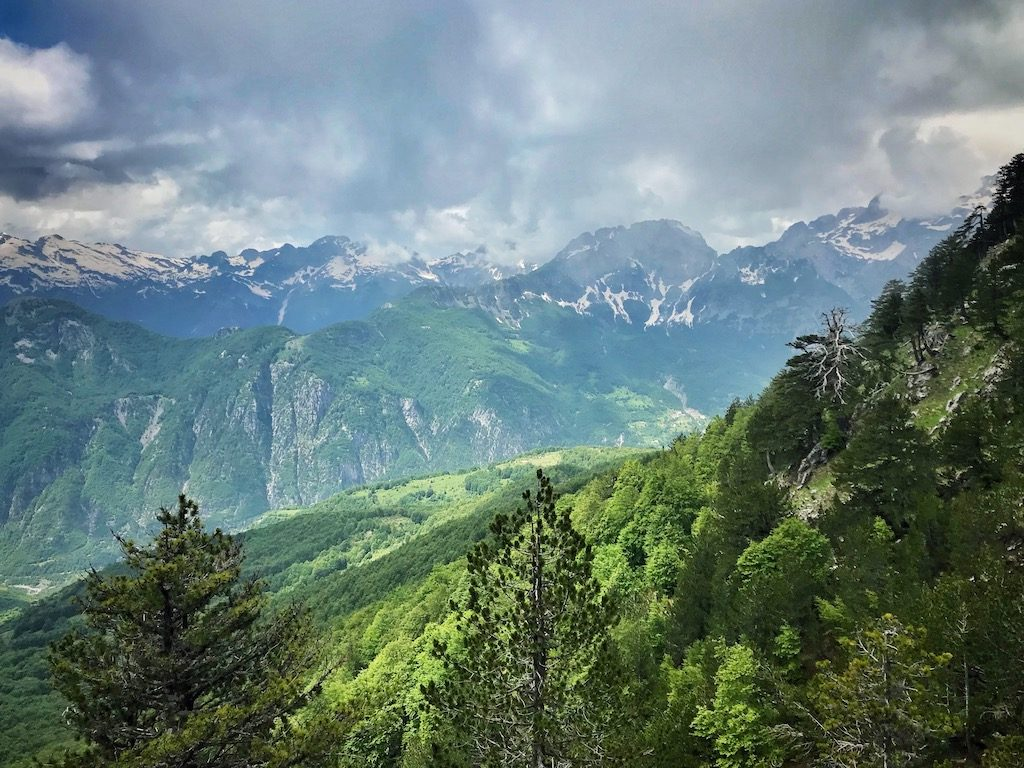 Theth Albanien