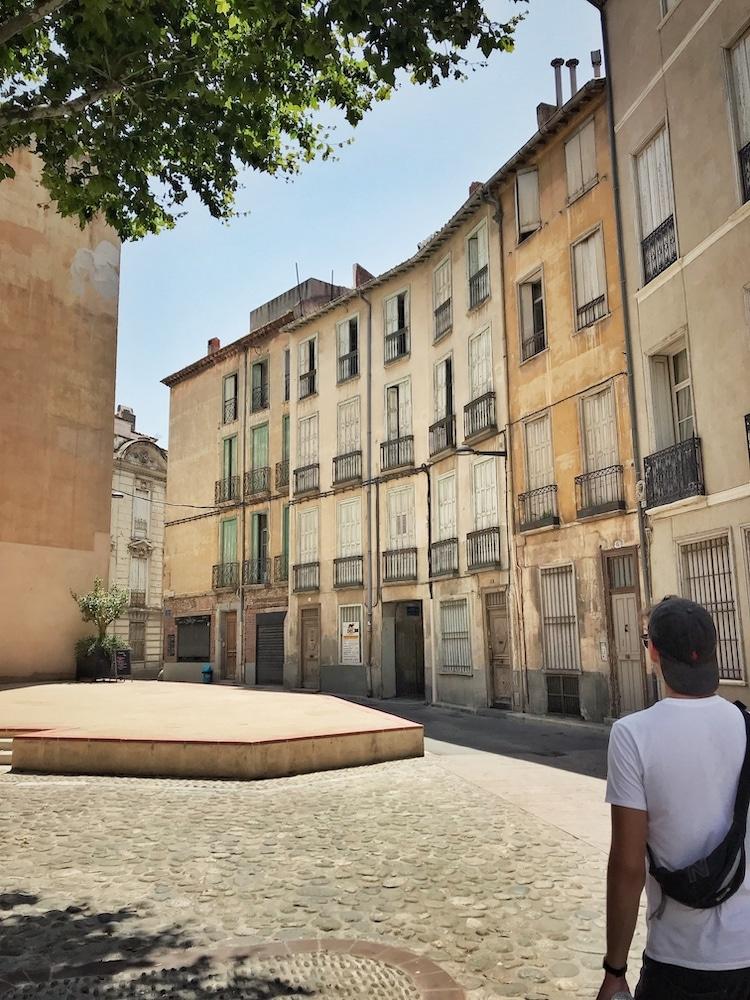 Perpignan Altstadt
