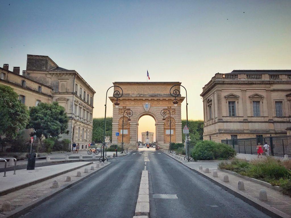 Porte du Peyrou Montpellier