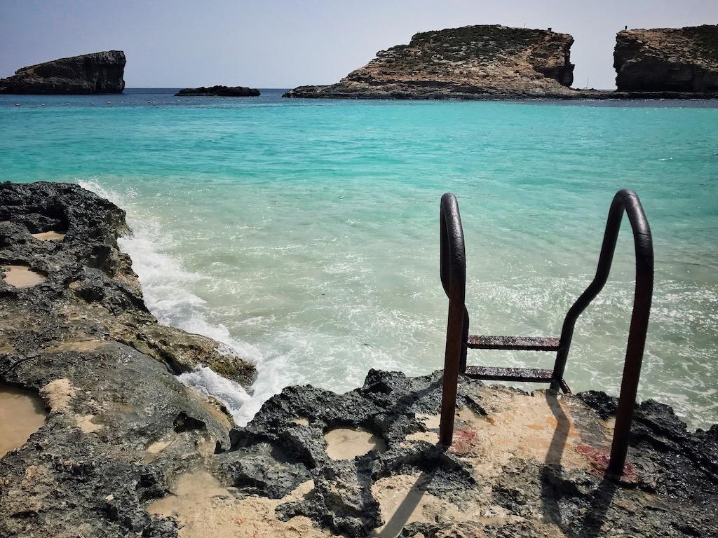 Blaue Lagune Comino