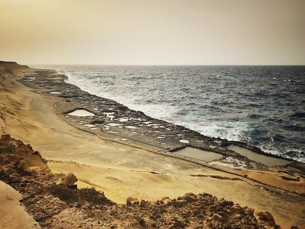 Gozo Salzpfannen