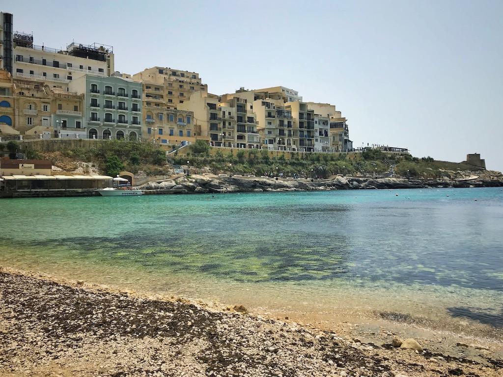 Xlendi Strand Gozo