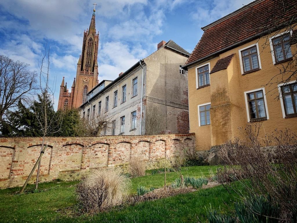 Kloster Machow mit Klosterkirche