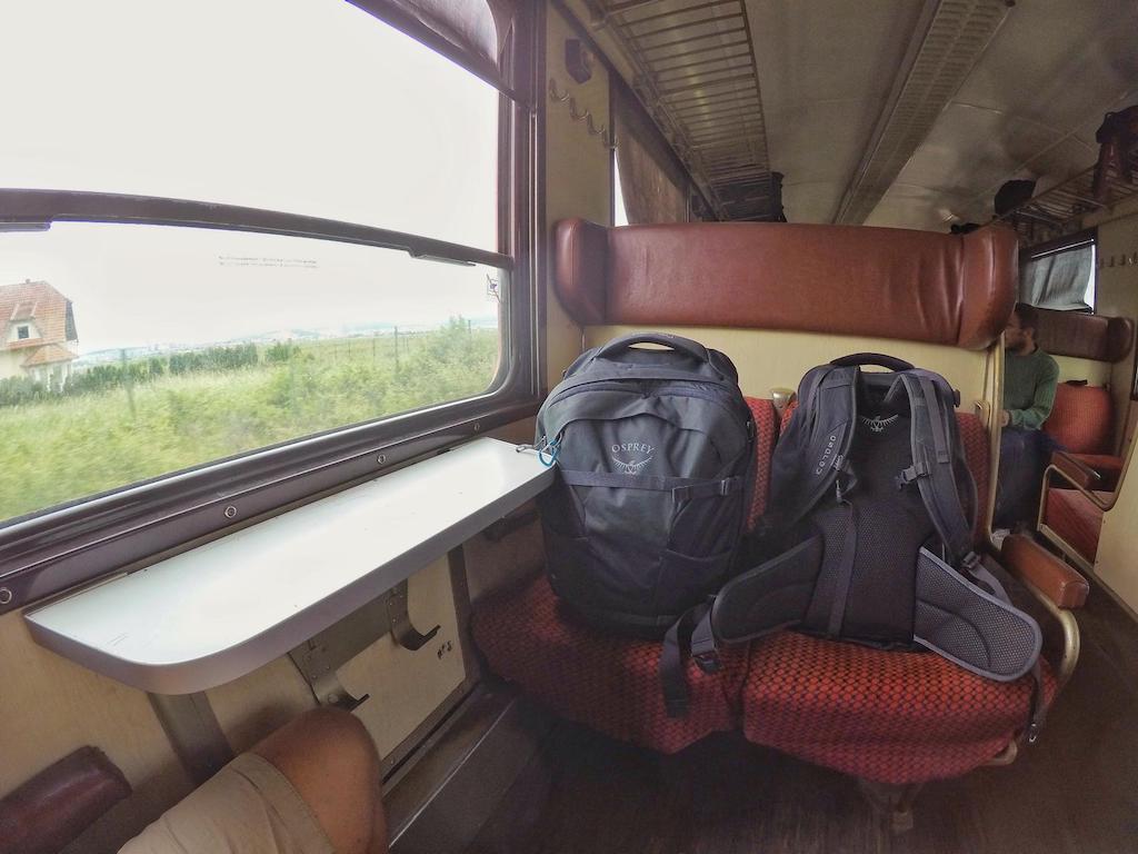 Reisen mit dem Zug