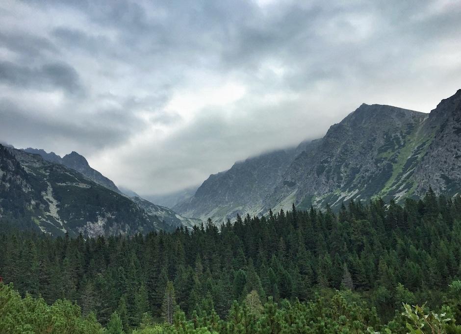 Wandern Hohe Tatra Slowakei