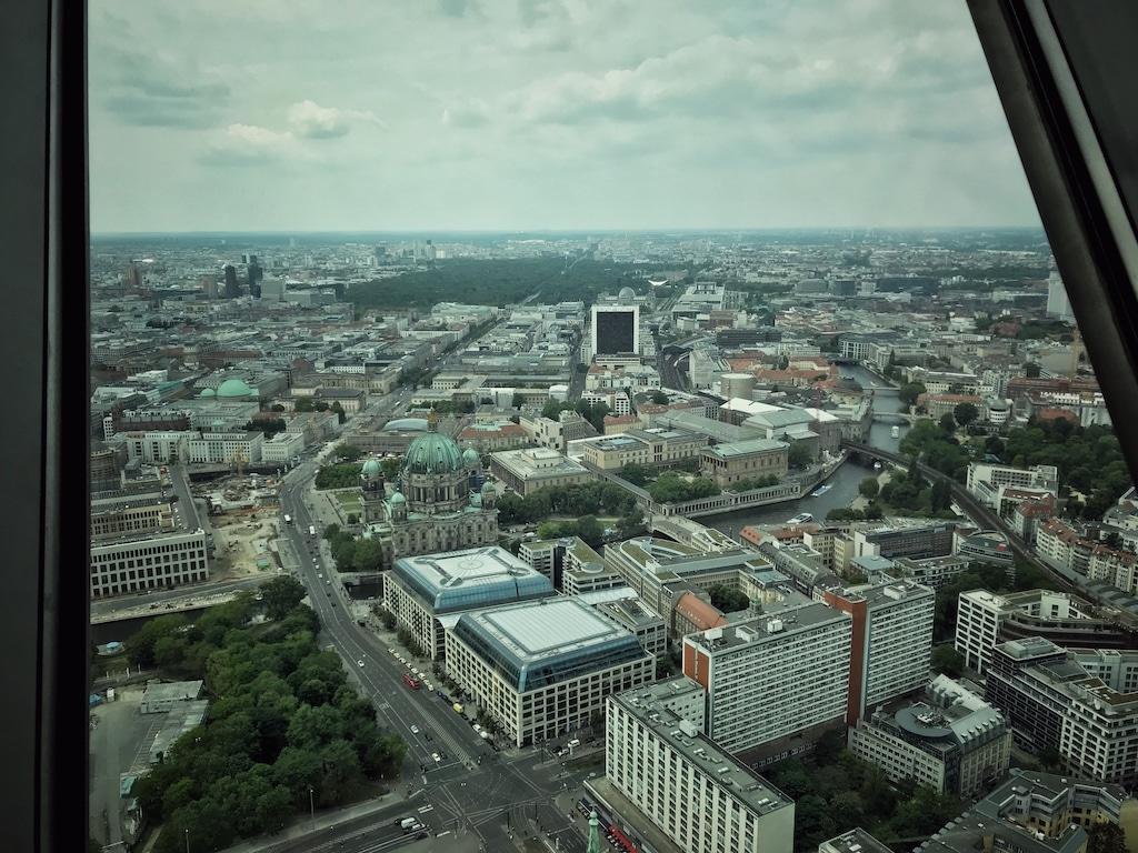 Berlin Mitte von oben