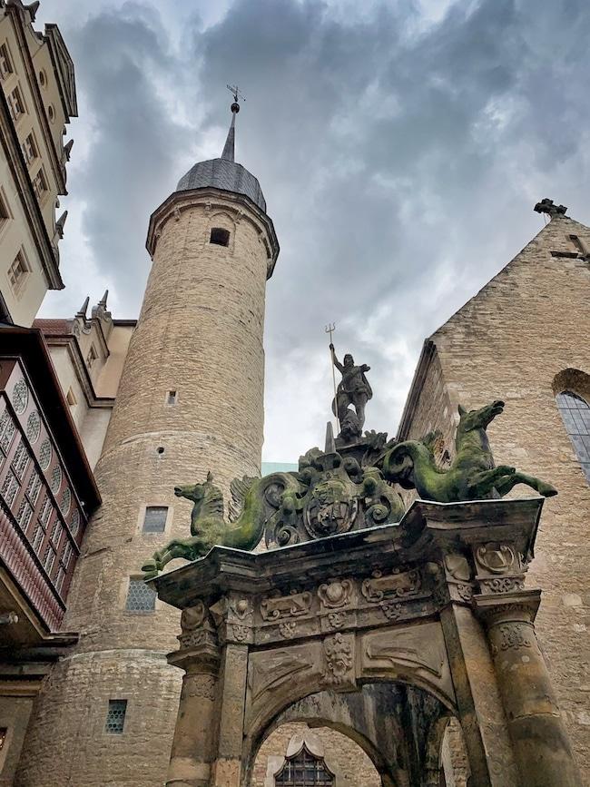 Schlossplatz Merseburg