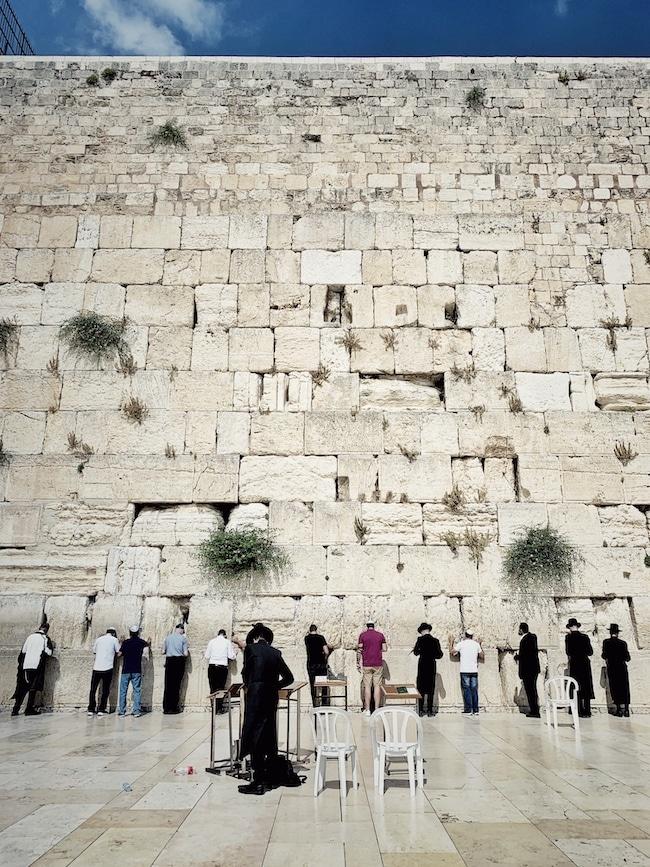 Jerusalem Reisebericht Klagemauer