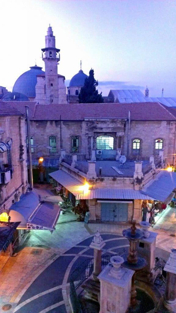 Jerusalem Reisebericht Muristan