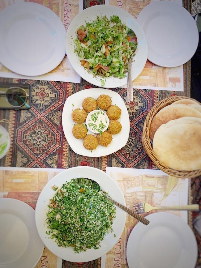 Jerusalem Reisebericht: Fattousch, Falafel, Taboulé