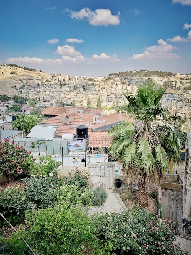 Jerusalem Reisebericht: Ausblick von der Altstadtmauer